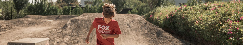 Happy Youth running in Fox Apparel
